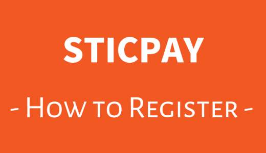 スティックペイ(Sticpay)の登録方法